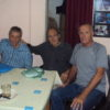 22-9-2018 - Asado de camaradería festejando la primavera. Fredy (LU5BIB), Raúl (LU4ETD) y Roberto (LU1EFX) aguardando el corderito.