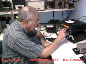 13-12-2014 LU6ACU (N5TN) Carlos, operando en LU4EV.