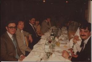 16/7/1988 Cena 25º Aniversario.