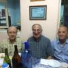 13-12-2014 - Norberto (LU2DHW), Carlos (N5TN - LU6ACU) y Sergio (LU2AO)