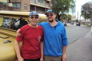 29-10-2017 Apoyo radial Maratón UTF. Juan (LU3DJP) y Javier (LU9DTJ)